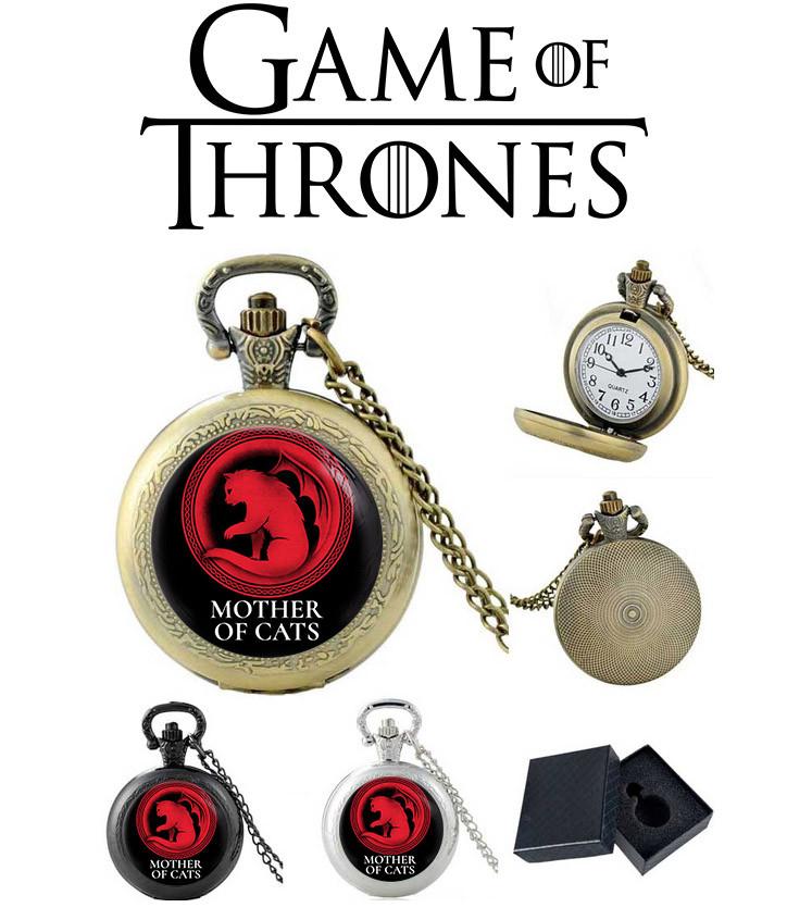 Карманные часы Мать котиков Игра престолов / Game of Thrones