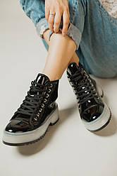 Женские ботинки Black Glamour