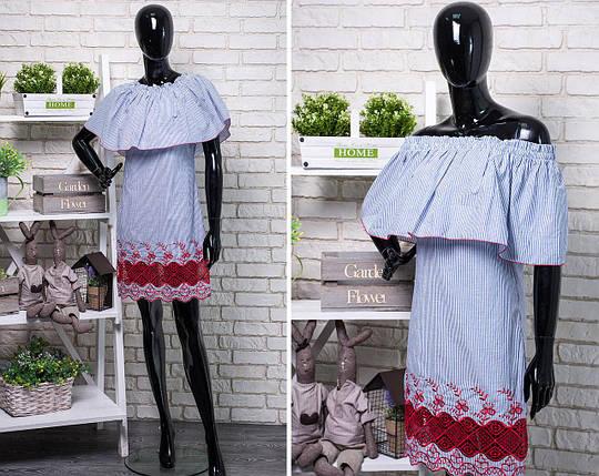 """Изящьное женское платье ткань """"Штапель"""" размер 42 размер норма, фото 2"""