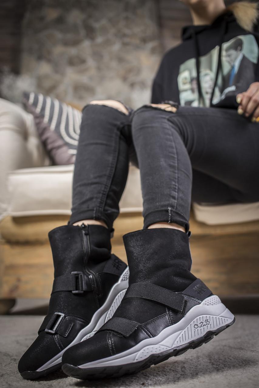 Женские ботинки Covaleri Black White