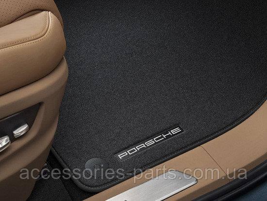 Коврики в салон текстильные Porsche Cayenne 958 E3 2018+ Новые Оригинальные