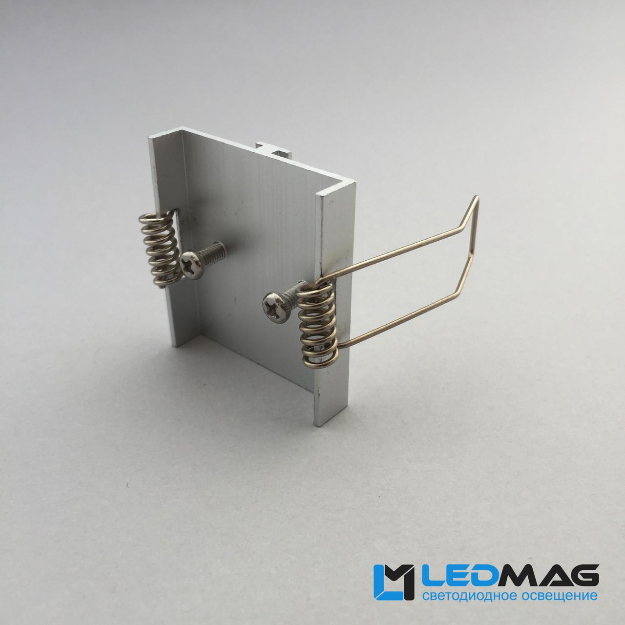 Пружина крепежная для встраиваемого профиля ЛСВ-55 70(55)х32 мм