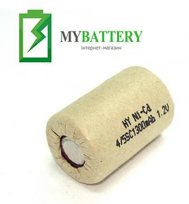 Аккумулятор для электроинструмента Ni-Cd 4/5SC 1.2V 1300mAh