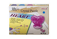 ПАЗЛЫ кристалические 3D Сердце 9002-3D