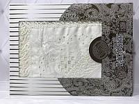 Скатерть с кружевом Isadora Sumeyra wite