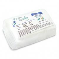 Салфетки одноразовые нарезные 6х10 (100 шт) белые гладкие
