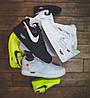 """Мужские кроссовки в стиле Nike Air Force 1 Low Off White  """"Black """" ( в стиле Найк ), фото 6"""
