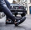 """Мужские кроссовки в стиле Nike Air Force 1 Low Off White  """"Black """" ( в стиле Найк ), фото 3"""