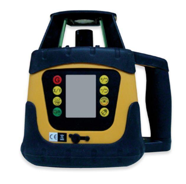 Лазерный нивелир ротационный Fukuda FRE-207 LCD-G Зеленый луч green