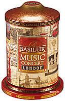 Черный чай Basilur Музыкальная шкатулка Лондон, ж/б 100г