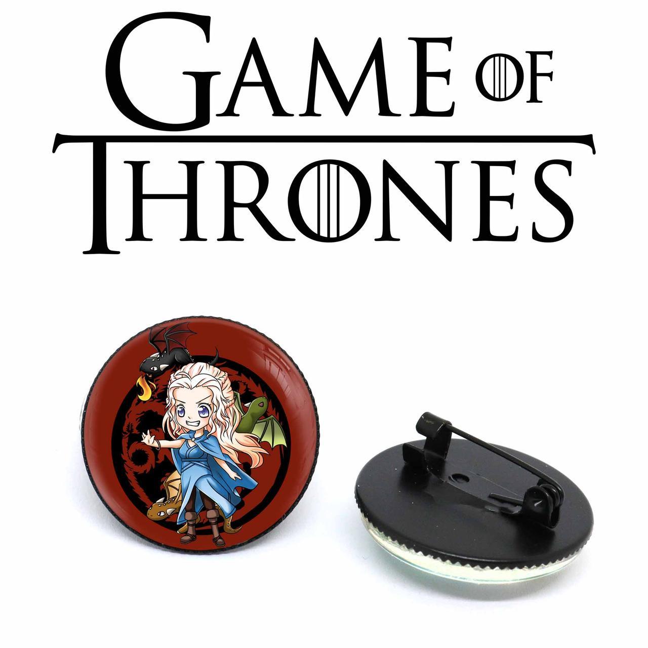 Значок Дейенерис Таргариен Игра престолов / Game of Thrones