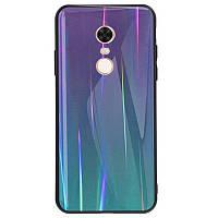 TPU+Glass чехол Gradient Aurora для Xiaomi Redmi 5 Plus / Redmi Note 5 (SC)