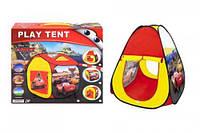 """Палатка """"Тачки"""" (70*70*90см, коробка) 995-7071B р.32*7,2*32см. scs"""