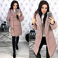 """Женская модная куртка на осень - весну, плотная плащёвка """"Канада"""" на 200ом синтепоне"""