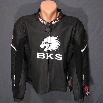 Мотокуртка BKS NEW кожа, фото 2