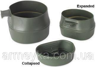 Шведская складная кружка Wildo Fold-A-Cup®, olive 200 ml. НОВАЯ.