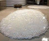 Набор велюровых ковриков для ванной Estima krem