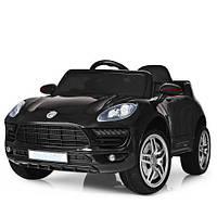 Детский электромобиль PORSCHE М 3178EBLR-2, черный