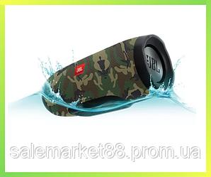 Колонка JBL 3+ Портативная Беспроводная Bluetooth Влагозащищенная Встроенный Power Bank реплика