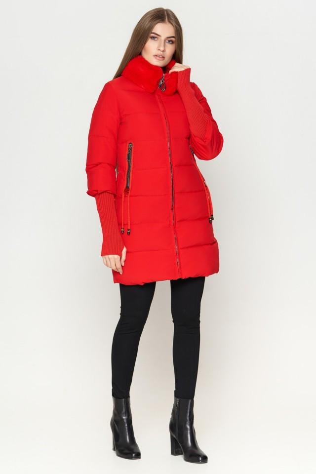 Женская куртка Braggart Kiro Tokao стандартной длины зимняя красная размер 48 50 52 54