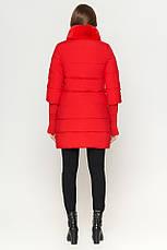 Женская куртка Braggart Kiro Tokao стандартной длины зимняя красная размер 48 50 52 54, фото 2