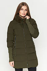 Женская куртка Braggart Kiro Tokao стандартной длины зимняя красная размер 48 50 52 54, фото 3