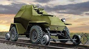 Ba-64 В/Г (Железнодорожные версии). 1/72 ACE 72264