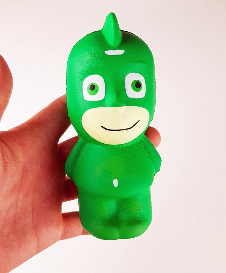 Игрушка сквиш-антистресс герои в масках Гекко