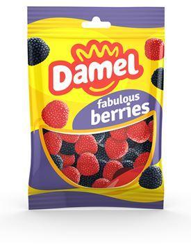 Жуйки Damel 100г berries ягоди,18шт/ящ