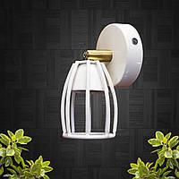 """Настенный светильник, спот поворотный, потолочная лампа, на одну лампу, белый цвет """"CUP-W"""""""