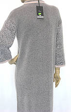 Тепле плаття з люрексом, фото 2