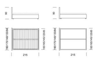 Кровать двуспальная Альфа 2, фото 3