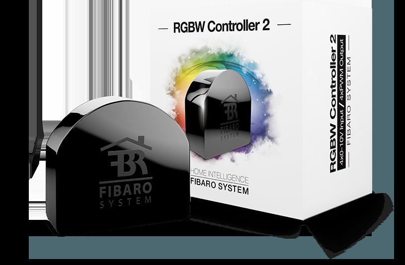 Контроллер светодиодных лент FIBARO RGBW Controller 2 — FGRGBW-442