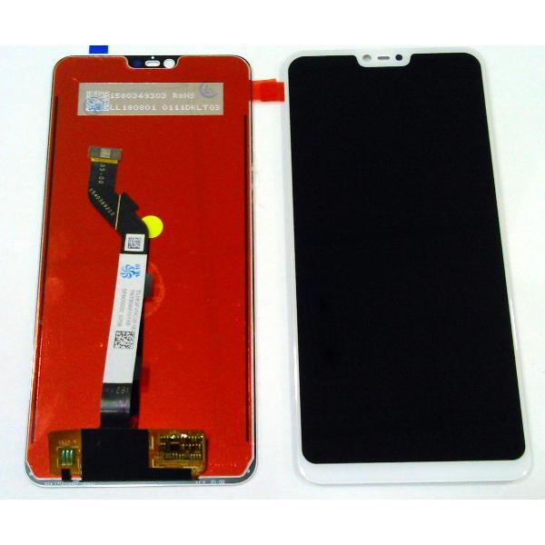 Дисплей для Xiaomi MI 8 Lite с тачскриноми белый, Оригинал