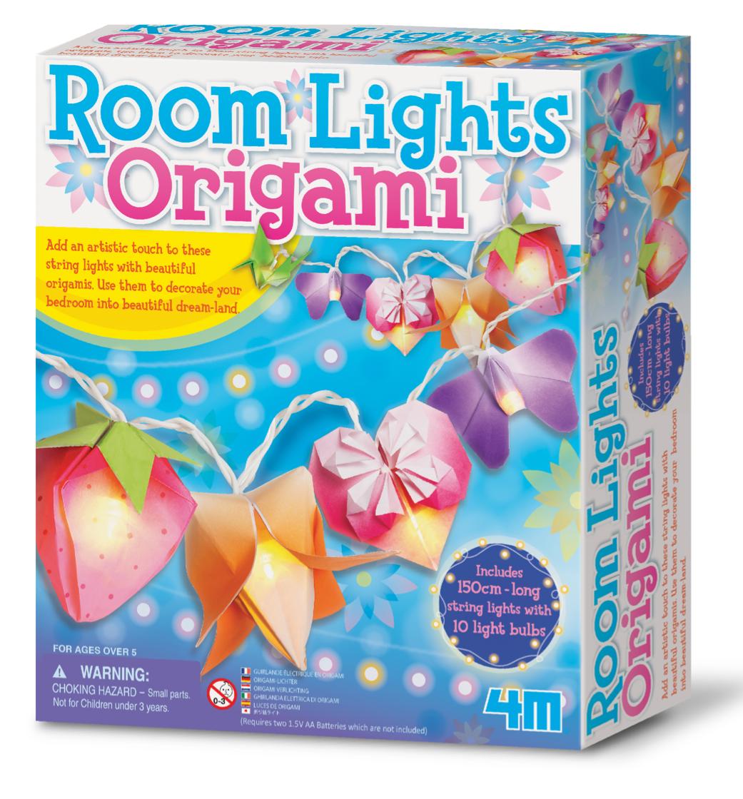 Набор для творчества Гирлянда из оригами 4M (00-02761)