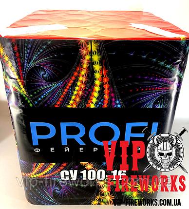 """Салют """"Profi"""" Калибр 100мм 16 выстрелов """"Профи"""" VIP СУ 100-16, фото 2"""