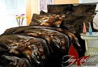 Комплект постельного белья из Поликоттона в разных расцветках ДИКИЕ КОШКИ