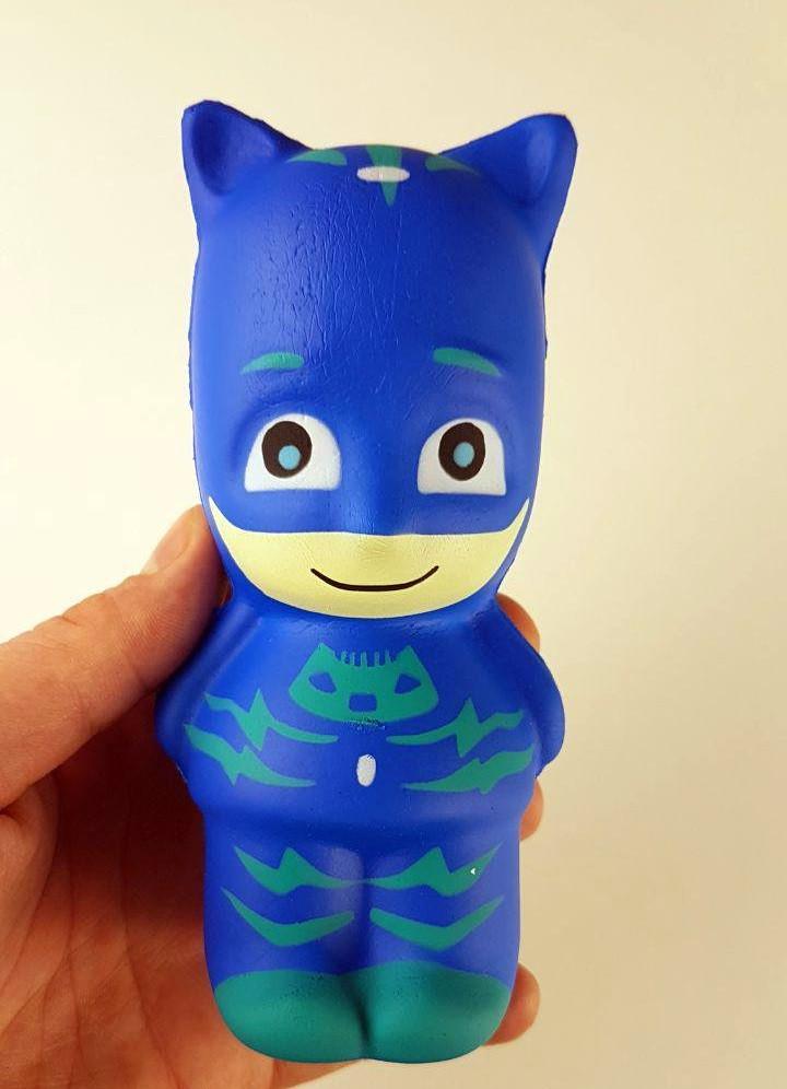 Игрушка сквиш-антистресс герои в масках Кэтбой