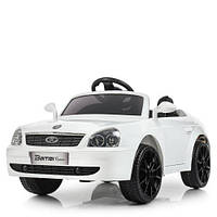 Детский электромобиль LADA PRIORA M 4106EBLR-1, белый