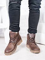 Коричневые мужские ботинки 6813-28