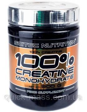 Креатин Scitec Nutrition 100% Pure Creatine Monohydrate 300g