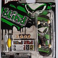 Игровой набор TECH DECK Фингерборд 96 мм. ORIGINAL (мини скейт) Цвет в ассортименте зеленый  Blind