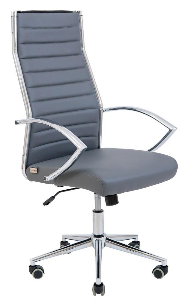 Компьютерное Кресло Малибу серое