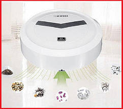Робот пылесос для сухой уборки XIMEI (1500 Вт), Робот пылесос XIMEI 14+ Smart Robot, фото 2