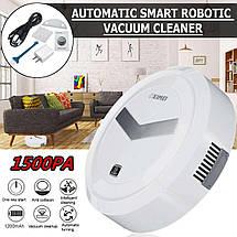Робот пылесос для сухой уборки XIMEI (1500 Вт), Робот пылесос XIMEI 14+ Smart Robot, фото 3