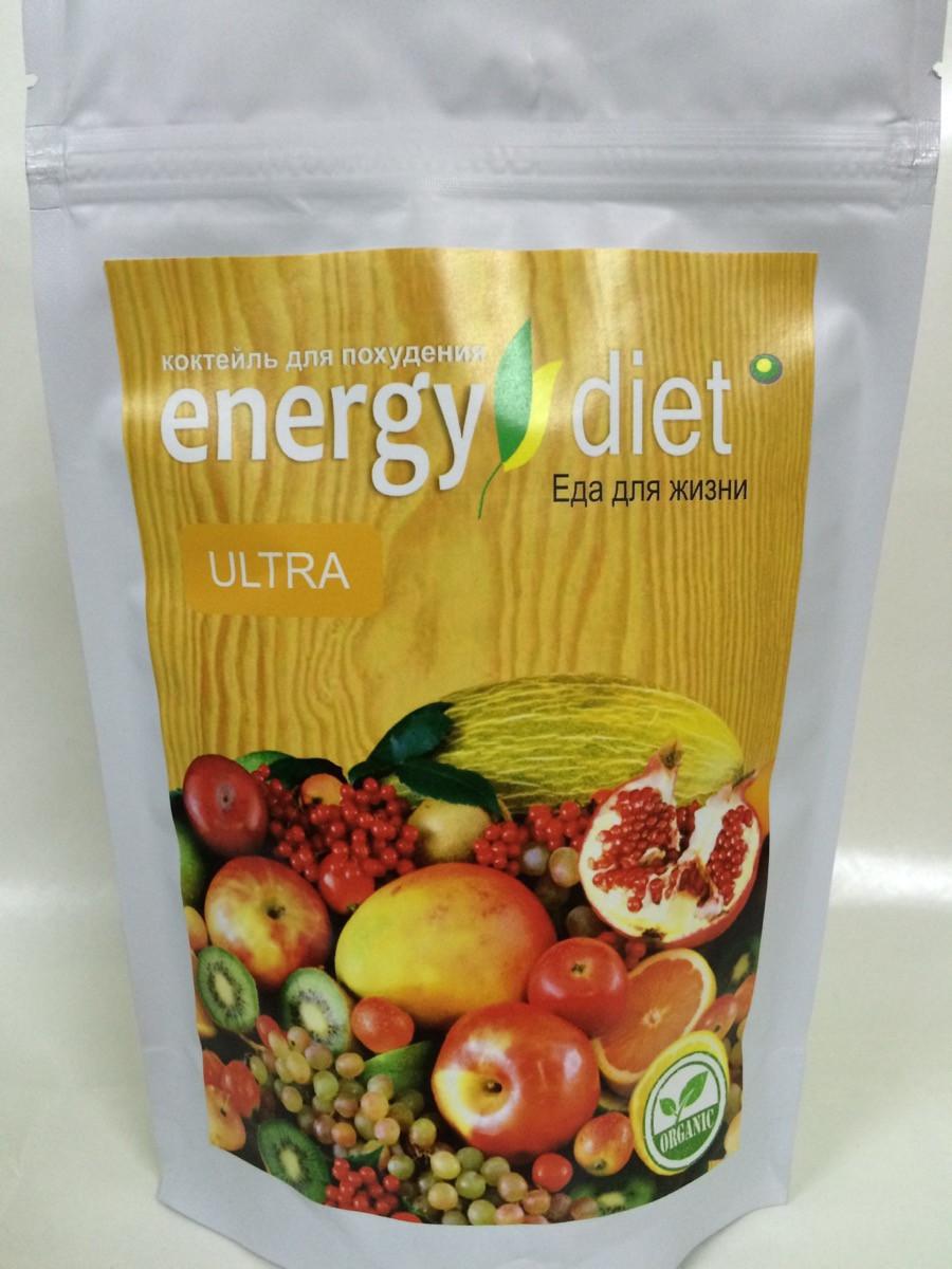 ENERGY DIET ULTRA - Коктейль для похудения (Энерджи Диет Ультра/Энергетическая диета), Заменит обед, ужин