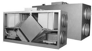 Приточно-вытяжные установки с рекуперацией тепла