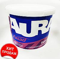 Краска фасадная акриловая AURA Fasad Expo 10л белая
