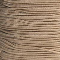 Шляпная резинка коричневая