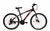 """Велосипед CROSSRIDE 26"""" колесо  MTB ST """"SKYLINE""""  (Черный)"""